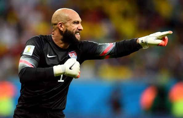 This is Tim Howard, America's World Cup goalie and all-around hero. | Tim Howard Is America's Lord And Savior, Despite World Cup Loss