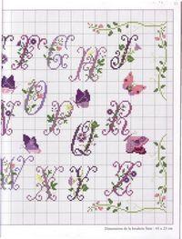 butterfly alphabet 3/3