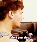 Guys I'm like crying cus yknow how Louis parents divorced and Paul is like the dad he never had, always there for him, AND IM SO UPSET -genie < Is it really the best idea to give Louis a red bull? I mean, come on!<< smooth paul