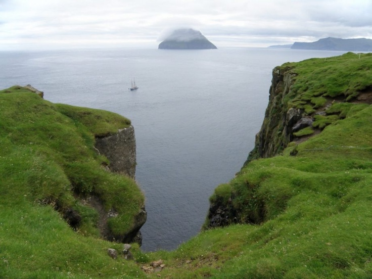 Beautiful cliff side