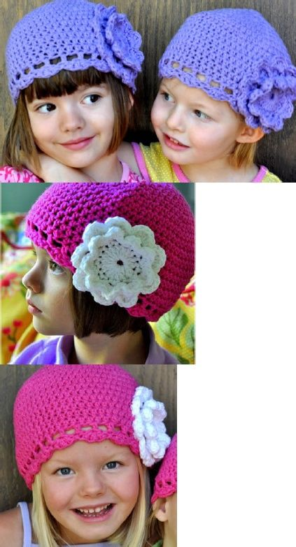 Can't find the pattern.  Just pic.  Girls cliche hat