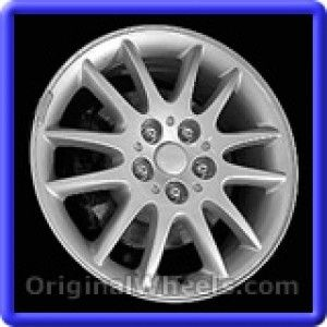 Chrysler 300M 1999 Wheels & Rims Hollander #2157B  #Chrysler #300 #Chrysler300M #1999 #Wheels #Rims #Stock #Factory #Original #OEM #OE #Steel #Alloy #Used