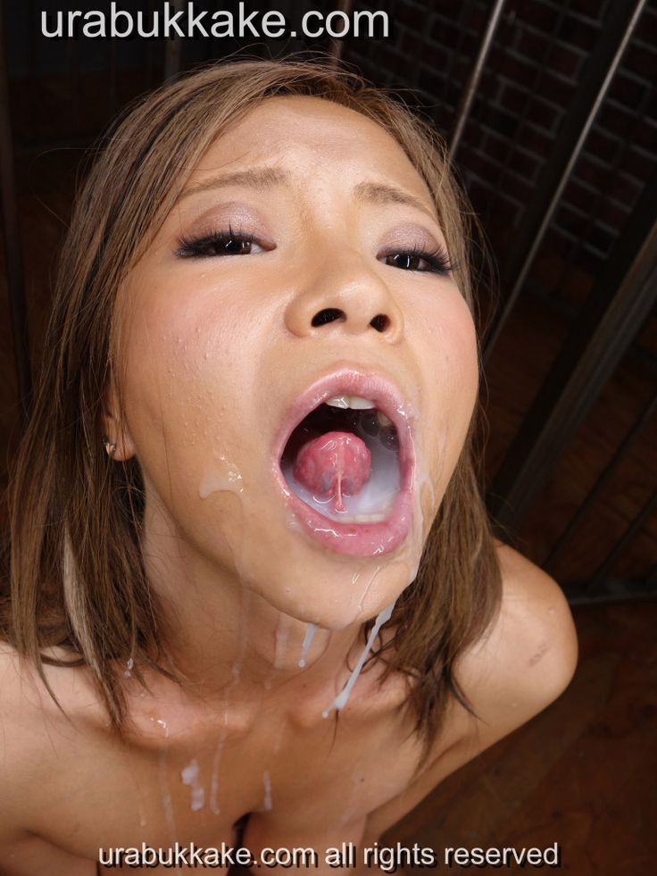 Japanese beauty bukkakecreampie and urophagia in a continuous 3