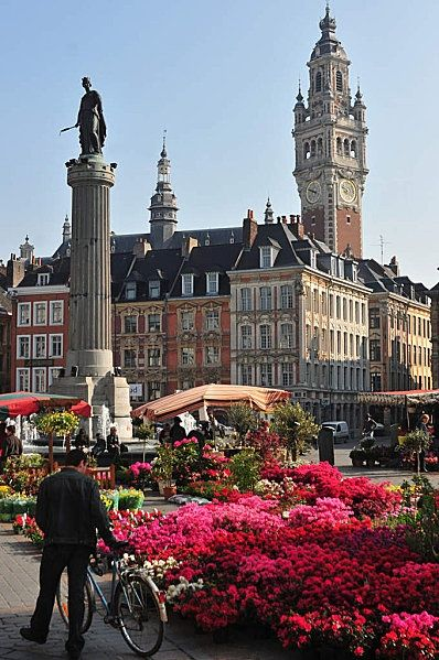 Lille, Nord Pas de Calais, France  Find Super Cheap International Flights to Lille, France ✈✈✈ https://thedecisionmoment.com/cheap-flights-to-europe-france-lille/
