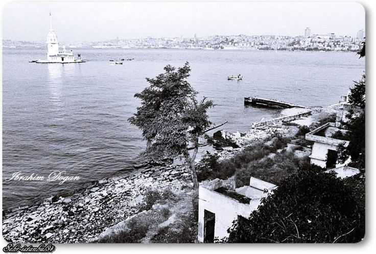 Üsküdar, Salacak sahili - 1970 ler