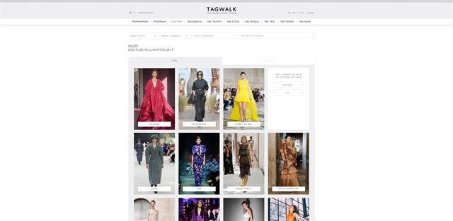 La parisina que creó el Google de la moda  Tagwalk es el buscador de pasarelas y tendencias que creó la parisina Alexandra van Houtte. Foto: LA NACION