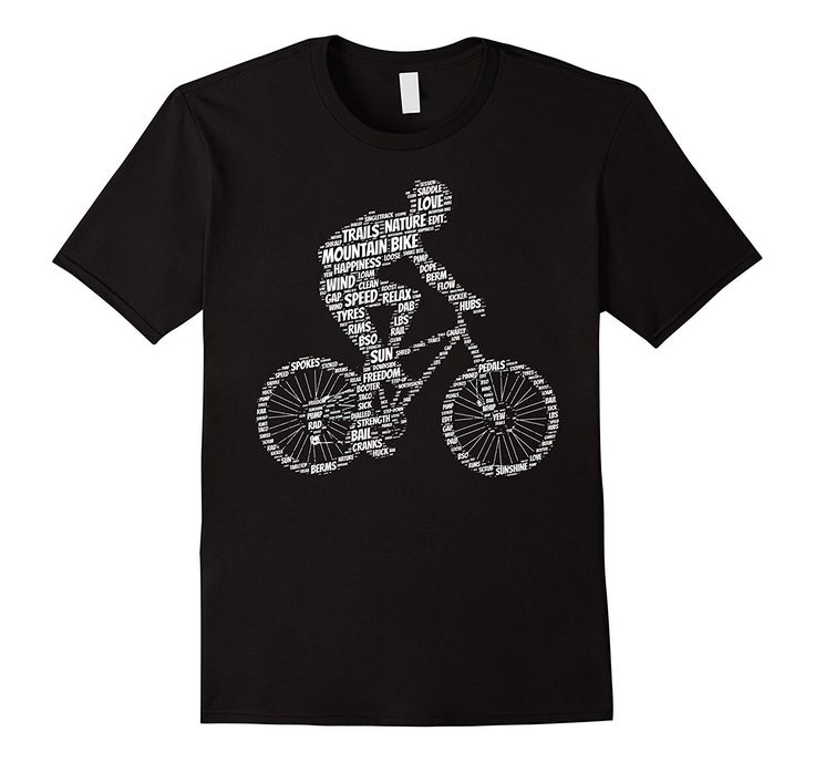 Mountain Bike Shirt: Funny Mountains Biking Biker T-Shirt