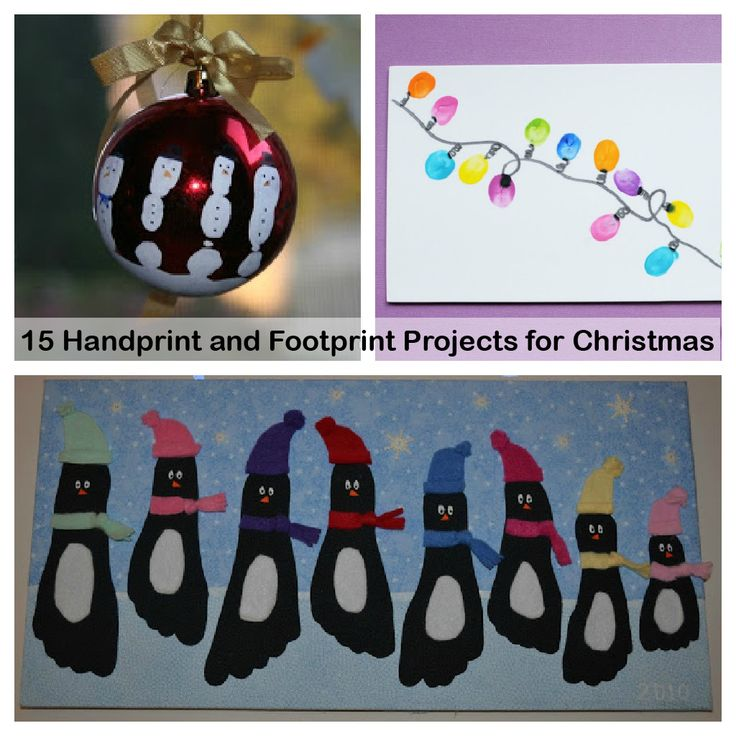 Images Of Christmas Handprint Art Spacehero