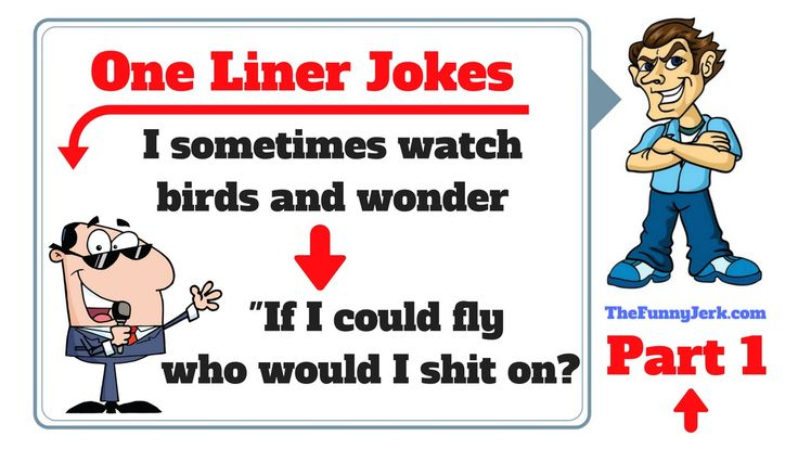 Funny One Liner Jokes Part 1. Best Short One Liners. Only The Funniest