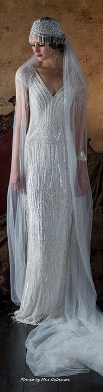 Beautiful Juliet Bridal Cap with long wedding veil…
