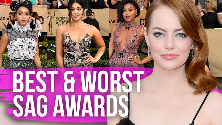 It was a celebration of actors at the 2017 Screen Actors Guild Awards and some of the best fashions walked the red carpet. We're breaking down the best and worst dressed right here on Dirty Laundry.