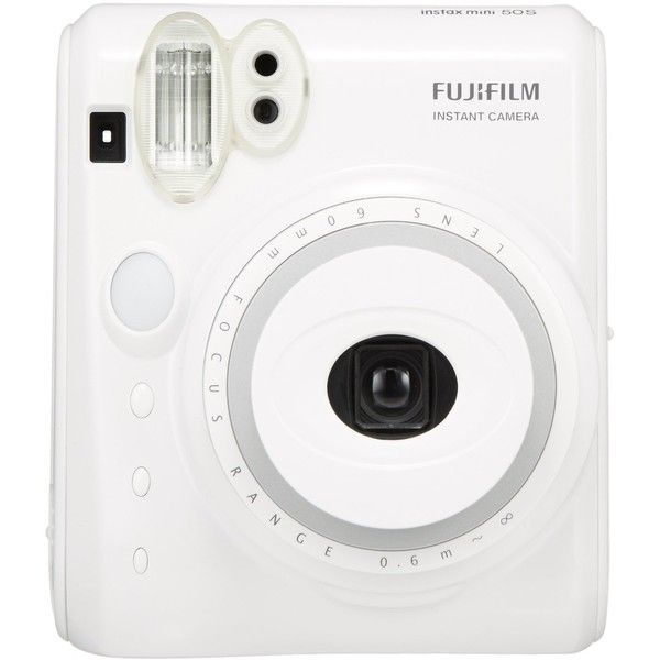 New Model Fuji Instax Mini 50s Piano White Fujifilm Instant Camera ($105) ❤ liked on Polyvore featuring accessories and filler