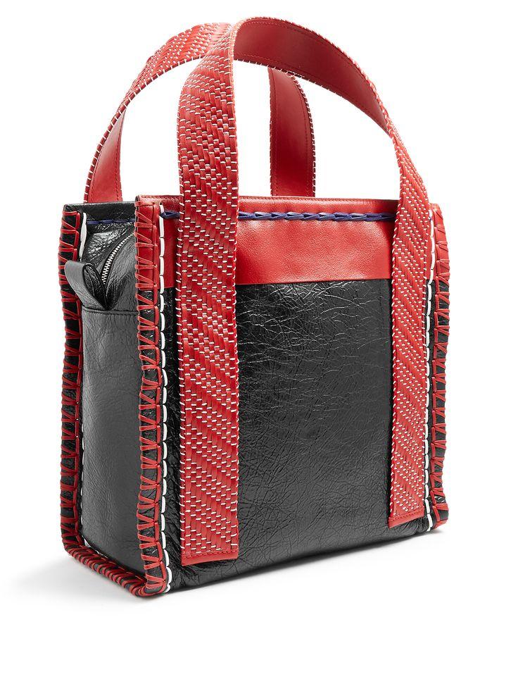 Scaffold leather tote | Balenciaga | MATCHESFASHION.COM UK