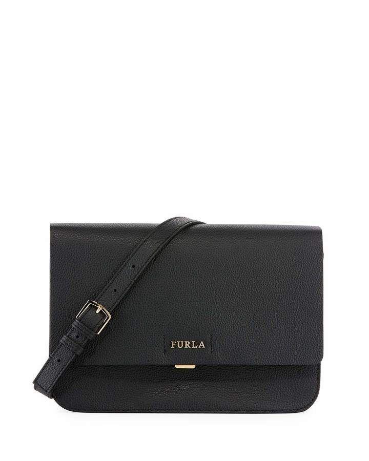 c99acdcc4bad Furla Sveva Medium Leather Crossbody Bag. Black Crossbody bag perfect for  every style.Women fashion. Black handbags. Handbags