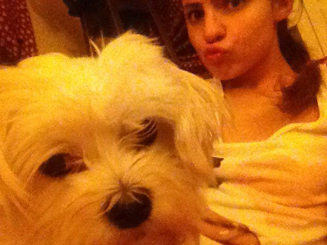 Bijou takes a selfie!!!!