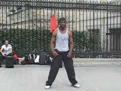 Street Dance in Paris  ...big fun!