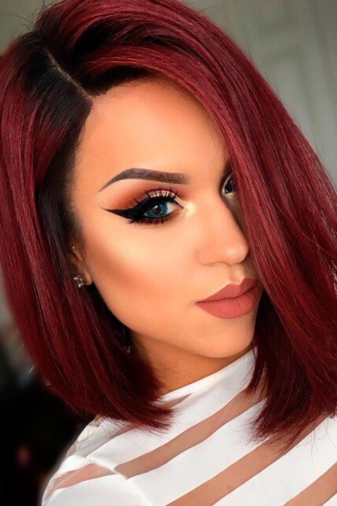 Check out our collection of trendy ways to upgrade short red hair.