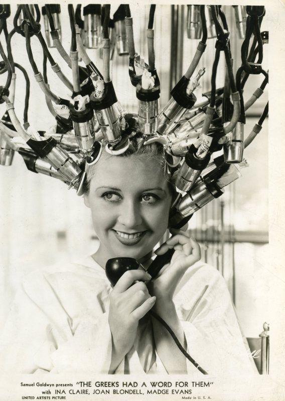 1930s hair salon