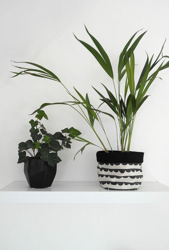 Cache pot en tissu pour une décoration raffinée et actuelle