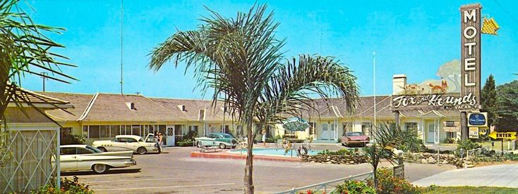 Fox and Hounds Motel, San Diego, California, 1960