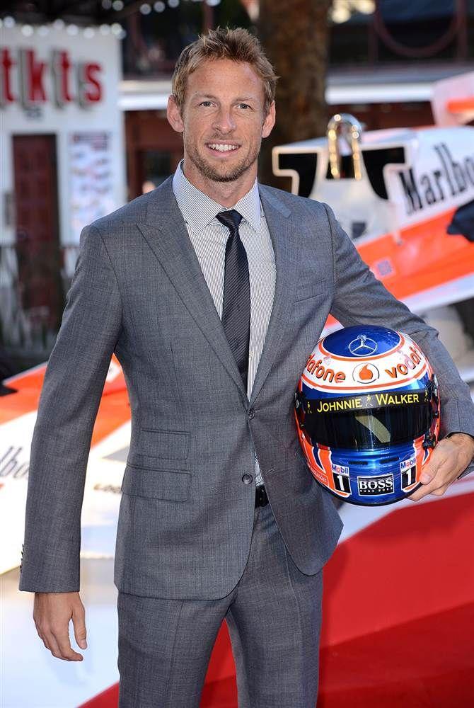 Jenson Button #tailoring