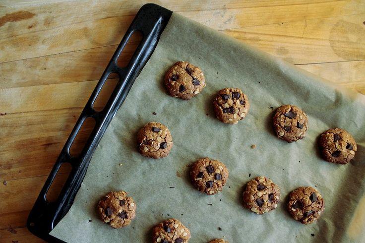 Ciasteczka z masła orzechowego- bez mąki i cukru! – Dietetyczne niebo