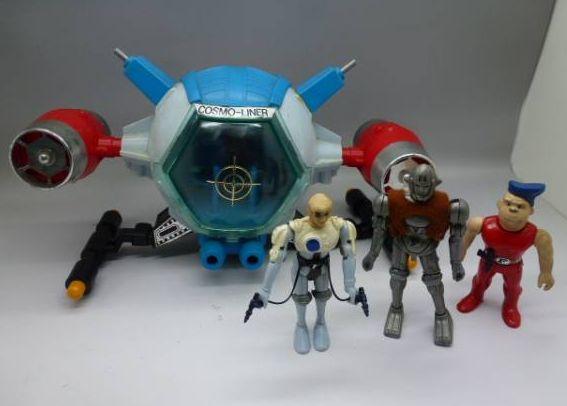 Captain Future Spielzeug