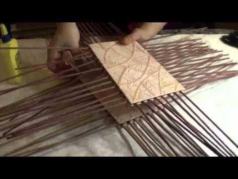 ♥ ♥ ♥ Узоры. Филейно-ситцевое плетение из газет ♥ ♥ ♥ - YouTube