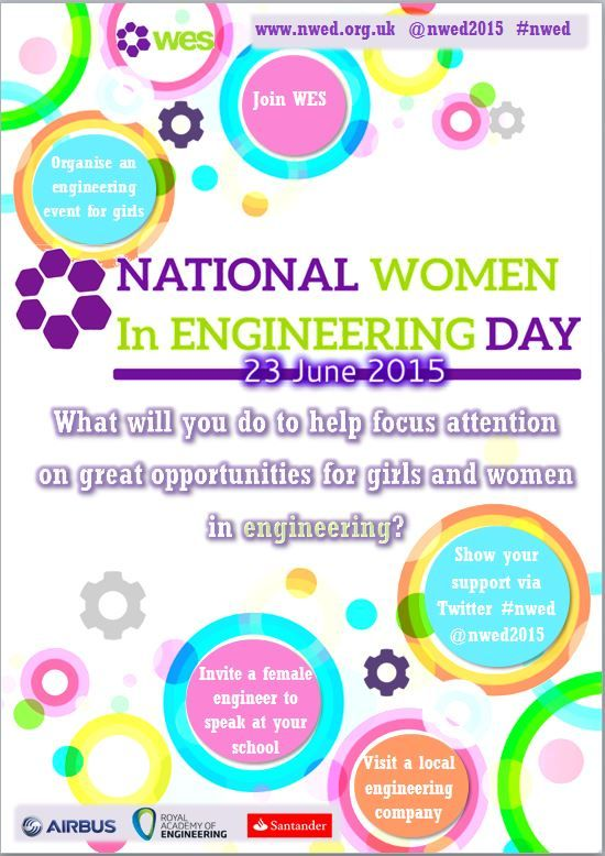 National Women in Engineering Day (NWED) | Women's Engineering Society