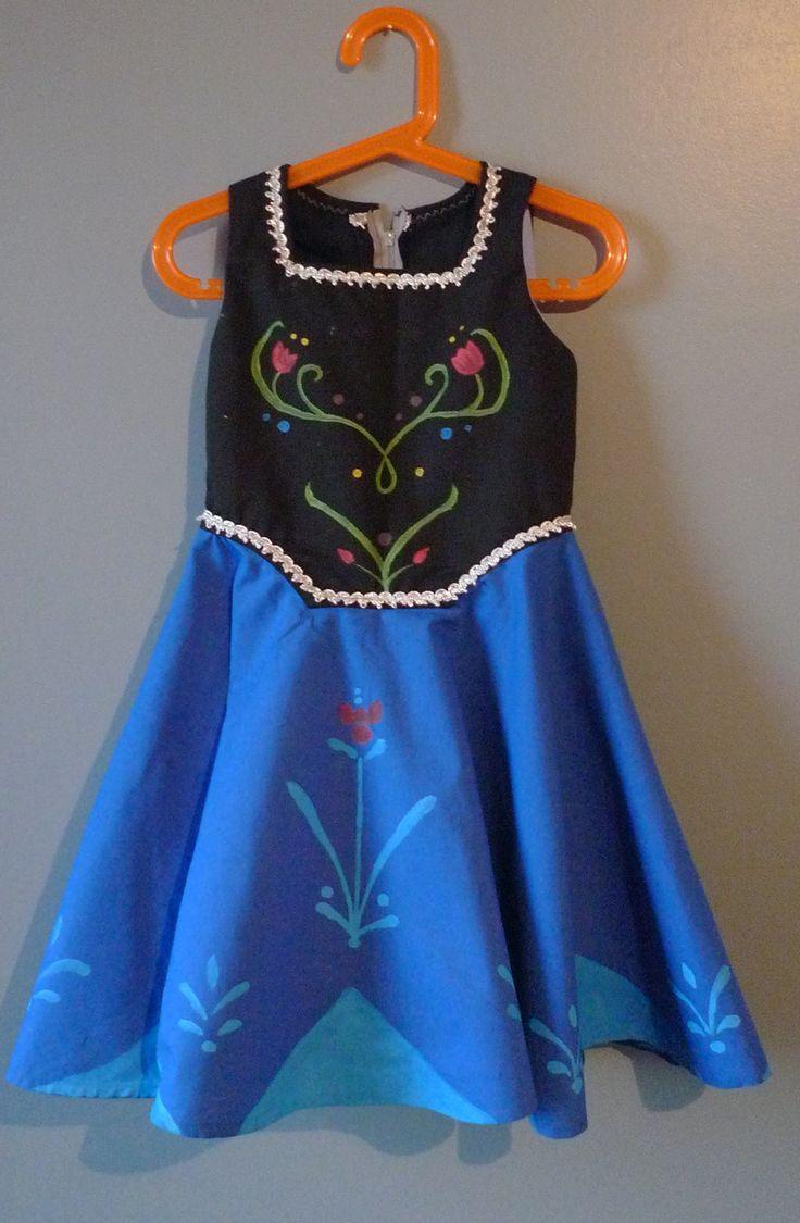 Les 25 meilleures id es de la cat gorie robe reine des neiges sur pinterest robe bleue de - Robe reine des glaces ...
