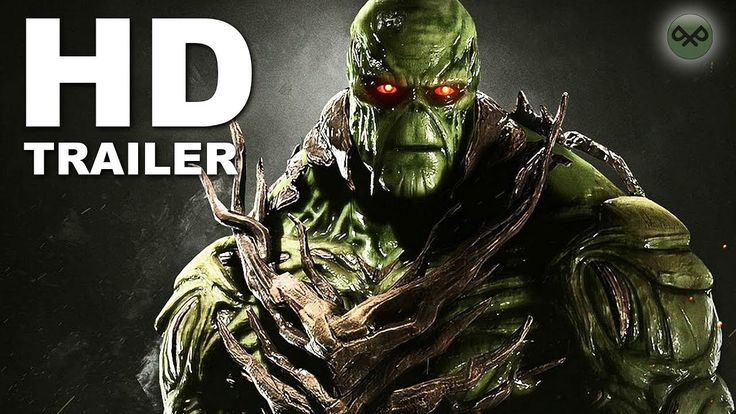 INJUSTICE 2 Swamp Thing Gameplay Trailer PS4/Xbox One/PC (2017)