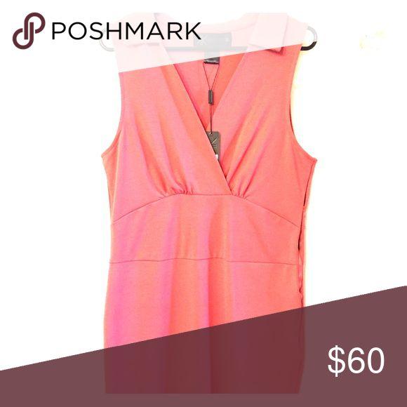 Kardashian kollection dress Pink sleeveless collar dress by Kardashian Kollection Kardashian Kollection Dresses Midi