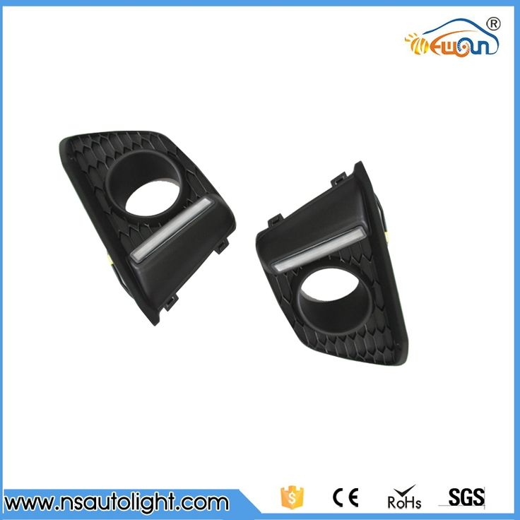 140.00$  Buy now - http://aligt9.worldwells.pw/go.php?t=32775941371 -  Car auto parts LED DRL  light  led Daytime Running Light external front headlight for Honda Jazz Fit 2014-2015 free shipping 140.00$