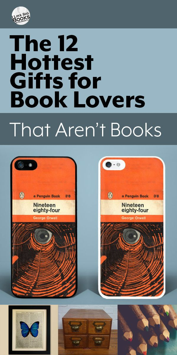 """Get out of the book-fan-present-buying rut and go for one of these book-inspired gifts that won't just get added to the """"to read"""" pile."""