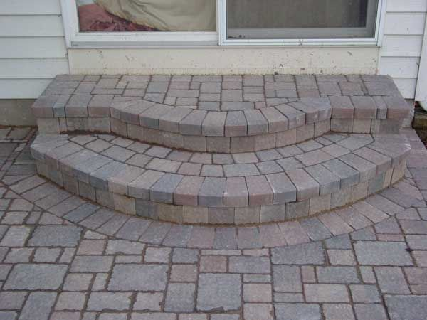 Best Outdoor Steps Images On Pinterest Outdoor Steps Brick - Paver patio steps
