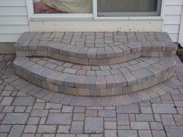Paver Bricks Grayslake Lake County Il Stoop Design