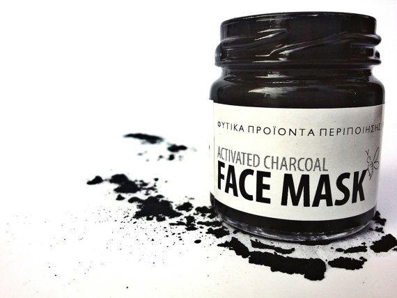 Carbone attivo maschera facciale, maschera Detox, maschera facciale per Acne Acne, maschera di carbone attivo, maschera, maschera di Tea Tree, lavanda maschera,