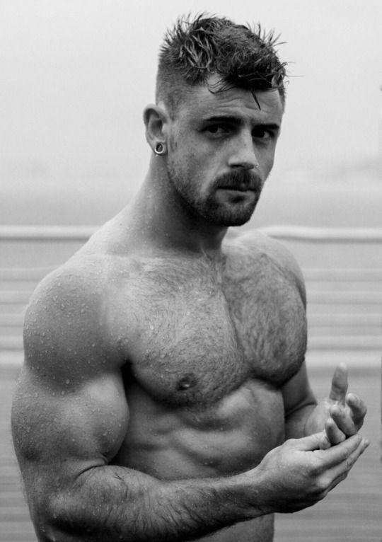 Testosterotica Man Photo, Bearded Men, Rugged Men, Cute Boys, Big Boys,