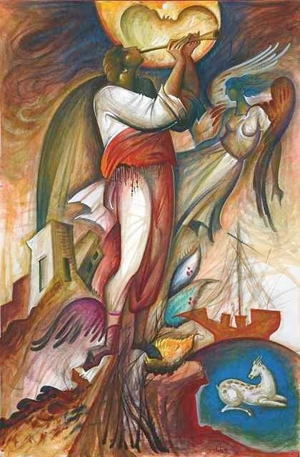 Giorgos Kordis - Angels contemporary icon