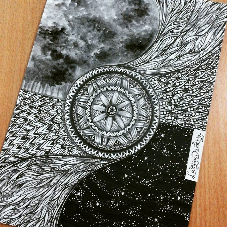 Mandala wheel..transport me to the moment in time..so i can feel the moment twice.. #quotes#wheel#transport#inktober#inktober2016#blackandwhite#inkdrawing#blackink#mandala#doodling#artbyladyzadzakiya#inktoberindonesia