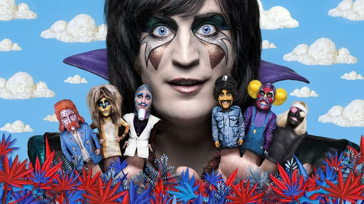 Noel Fielding in Luxury Comedy...ooh yeah!