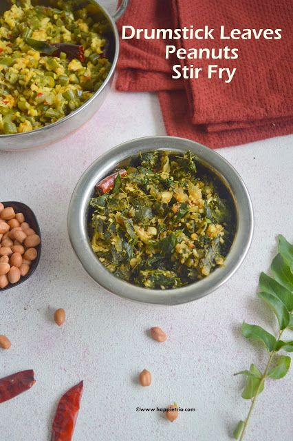Chettinad Style Drumstick-leaves Stir Fry