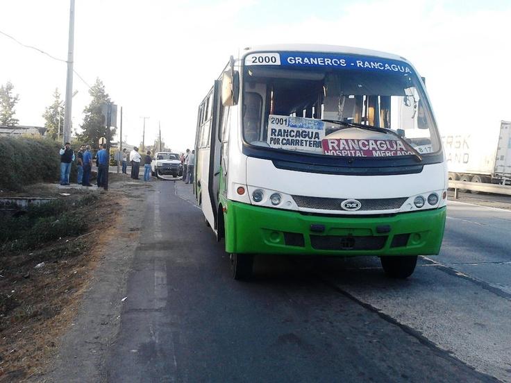 Transporte Público, #Graneros a #Rancagua por Carretera 5 Sur ...