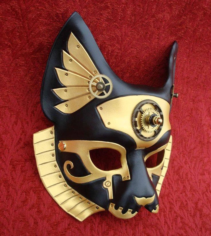 Industrial Bast Egyptian Cat Queen by *merimask on deviantART