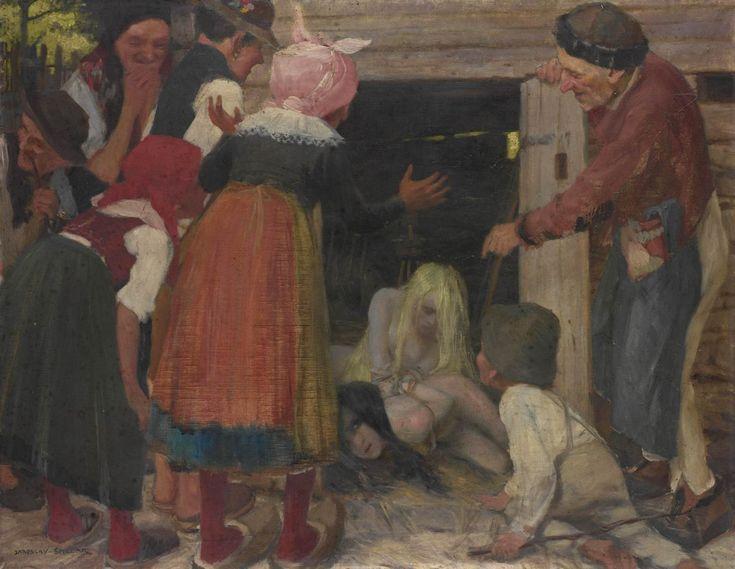 Jaroslav Špillar, Lapené lesní žínky (Vodní žínky), [před 1901]