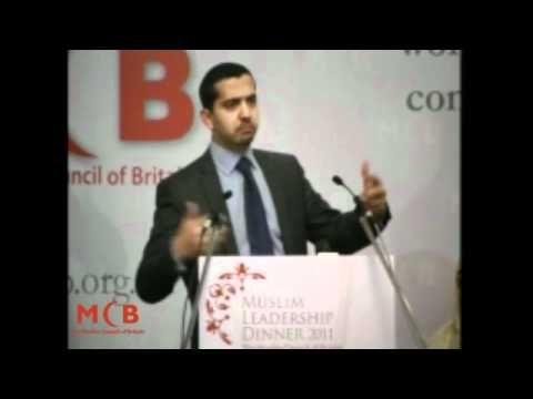 Mehdi Hasan at the Muslim Leadership Dinner