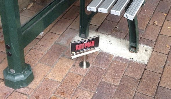I loved this brilliant ant-sized teaser advertising campaign for up and coming Ant-Man film.