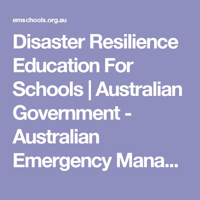 Disaster Resilience Education For Schools | Australian Government - Australian Emergency Management Institute Great for Year 5 bushfires!