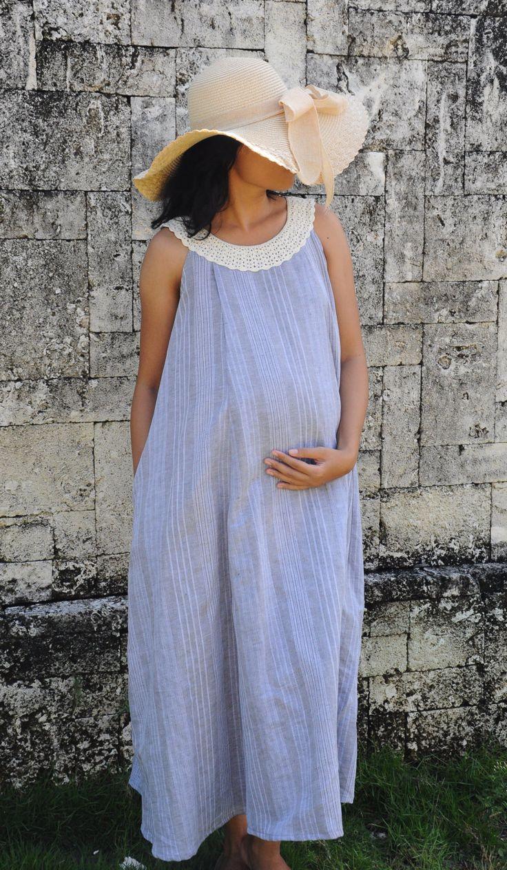 43 best summer dress images on pinterest summer dresses linen and cotton dress midi dress maternity dress nursing dress linen with ombrellifo Image collections