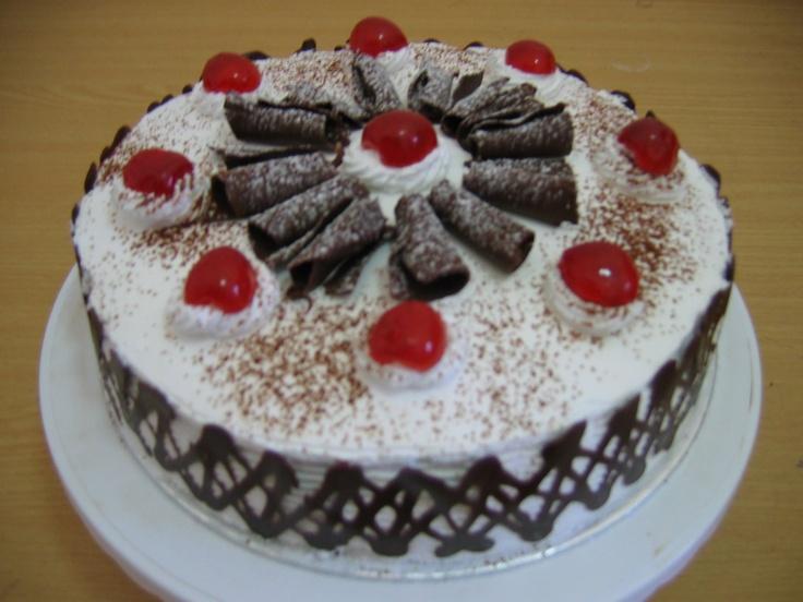 Resep Cake Tart Ncc: Resep Membuat Kue Tart Ulang Tahun Black Forest Sendiri